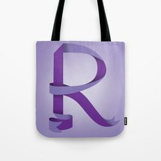 Alphabet R Tote Bag