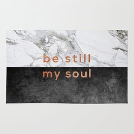 Be Still My Soul Copper Rug