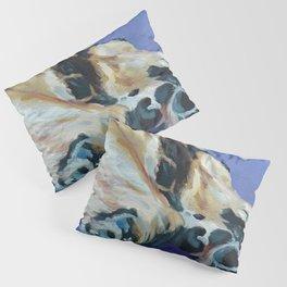A Dog's Paws Portrait Pillow Sham