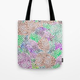 Modern abstract watercolor hand drawn pattern Tote Bag
