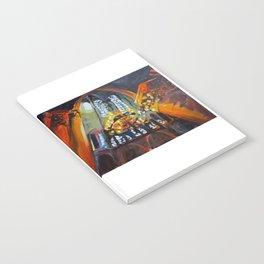 Chandelier in Notre Dame Notebook