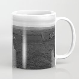 Beltany Stone Circle Donegal 2 bw Coffee Mug