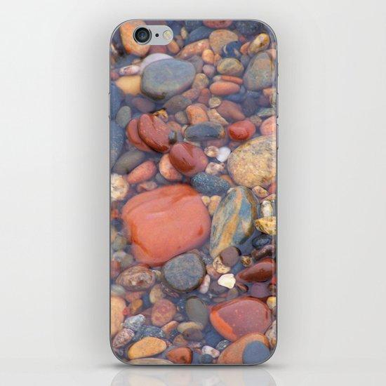 Beach Stones Along Lake Superior iPhone & iPod Skin