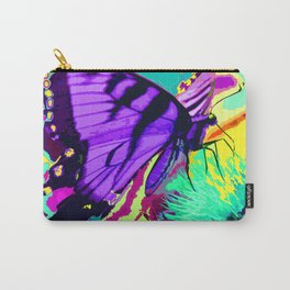 Purple butterfly beauty 1 Carry-All Pouch