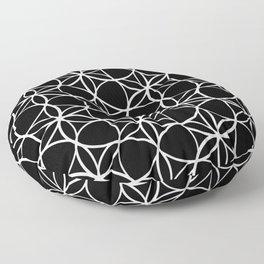 Flower of life pattern Floor Pillow