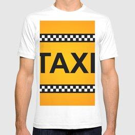 TAXI Sign T-shirt