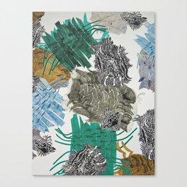 Carbonation Collection: beach Canvas Print