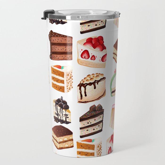 Yummy Cakes Travel Mug