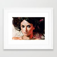 angel Framed Art Prints featuring Angel by Veronica  Kokoreva