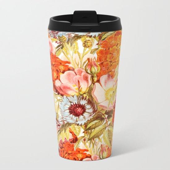 Coral Bloom #society6 #decor #buyart Metal Travel Mug