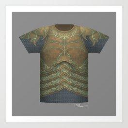 Armor Series: Elven Plate Art Print
