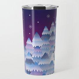 Tree Hugger (Night Version) Travel Mug