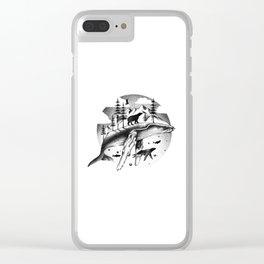 ARCTIC WONDERS Clear iPhone Case