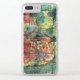 Permission Series: Brave Clear iPhone Case