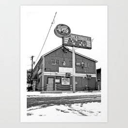 South Tacoma Pipe & Tabacco Art Print