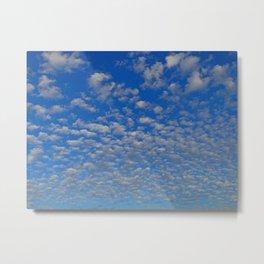 So many Clouds Metal Print