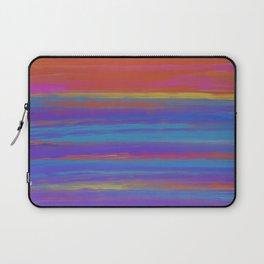 Deep Sunset Abstract Laptop Sleeve