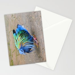 Nicobar Pigeon Strut Stationery Cards