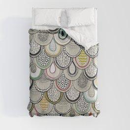 dragon scales Duvet Cover