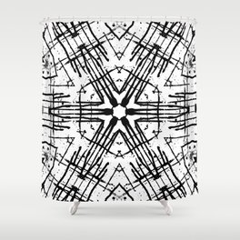 Numic Tribe Shower Curtain
