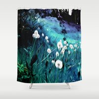 coconut wishes Shower Curtains featuring Wishes by Nev3r