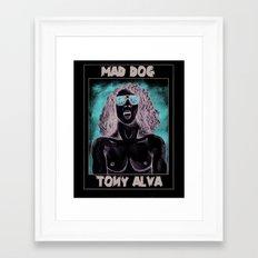 Tony Alva Framed Art Print