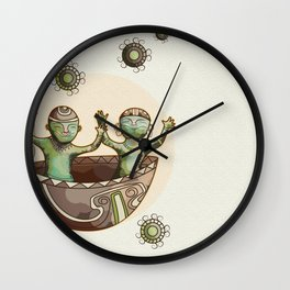 My little Quimbayas Wall Clock