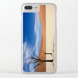 Dead Tree Desert Clear iPhone Case