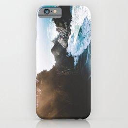 ocean falaise iPhone Case