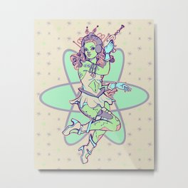 Space Vixen Metal Print
