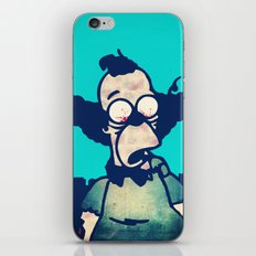 ZOMBIE KRUSTY iPhone & iPod Skin