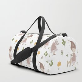 Woodland Nymph and her Doe Duffle Bag
