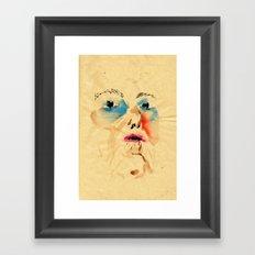 Mum claim Framed Art Print