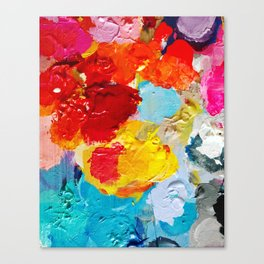 Pallette Canvas Print