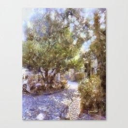 Durbuy - Afternoon Tea Canvas Print