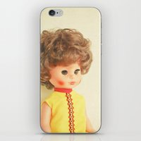 dolly parton iPhone & iPod Skins featuring Dolly by Cassia Beck