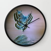 bug Wall Clocks featuring Bug by Shalisa Photography