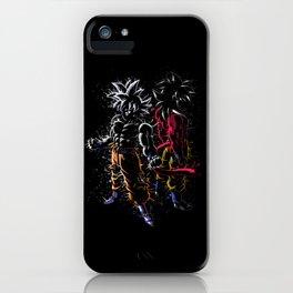 Splatter Maximum Power iPhone Case