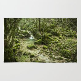 Green nature Rug