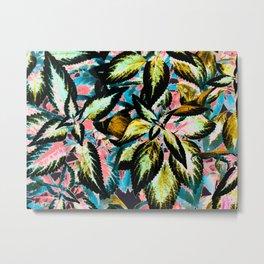 Tropical Leaf Jungle Metal Print