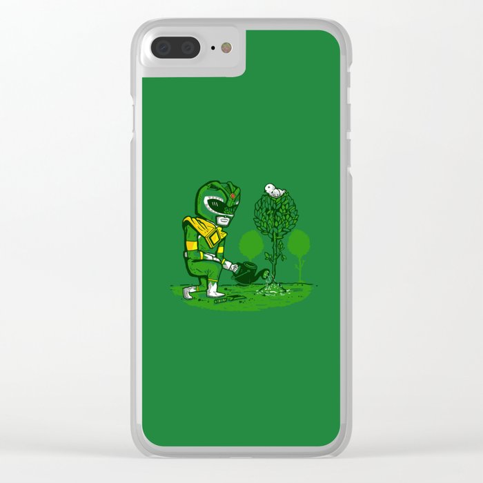 Green Ranger Clear iPhone Case