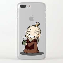 Uncle Iroh Clear iPhone Case