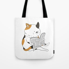 Morning Cat II Tote Bag
