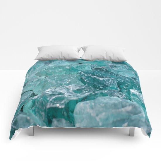 Blue Rocks Comforters