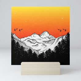 Rila Bulgaria Mini Art Print