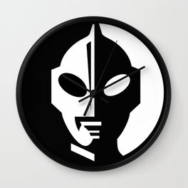 Ultraman Logo Wall Clock