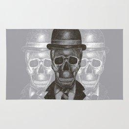 Worked To Death (Grey version) Rug