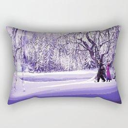 Frozen - Kristoff and Anna Rectangular Pillow