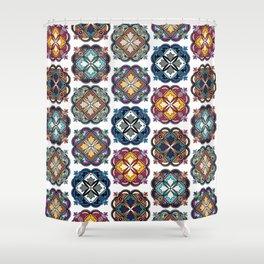 Morocco Topo Shower Curtain