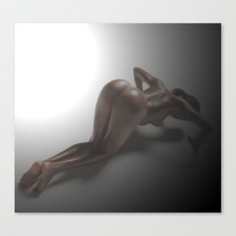 Nude Naked Model 48 Canvas Print